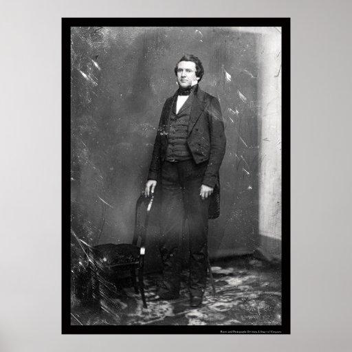 Secretaria Alexander Estuardo Daguerreotye 1846 Póster
