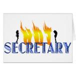Secretaria caliente felicitacion