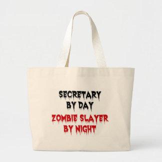 Secretaria del asesino del zombi del día por noche bolsa de mano