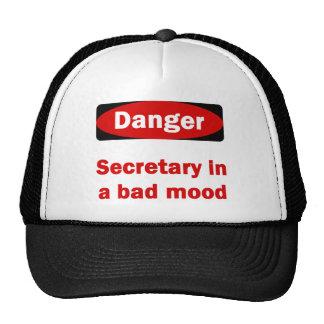 Secretaria Hat Gorras