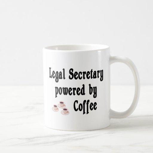 Secretaria legal tazas
