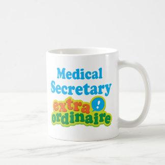 Secretaria médica Extraordinaire Gift Idea Tazas De Café