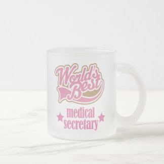 Secretaria médica Gift (mundos mejores) Taza De Café