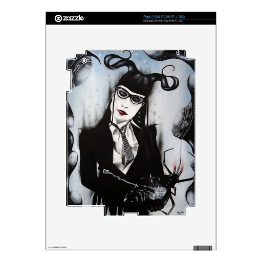Secretaria Morte Skins Para iPad 2