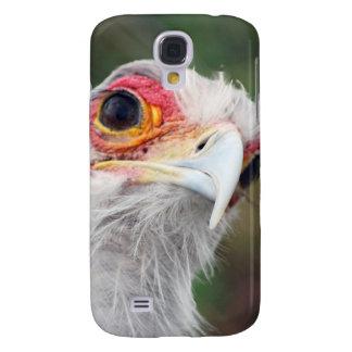 Secretaria pájaro de Suráfrica Funda Para Galaxy S4