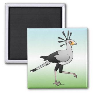 Secretaria pájaro imanes de nevera