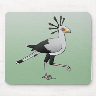 Secretaria pájaro tapete de ratón