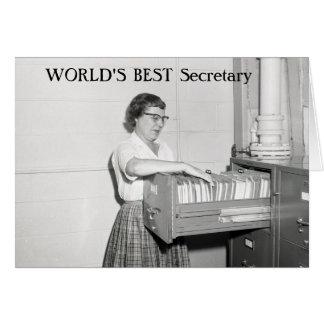 Secretaria retra felicitaciones