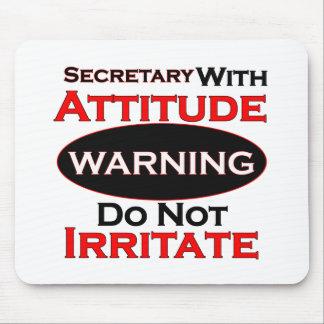 Secretaria With Attitude Alfombrilla De Ratones