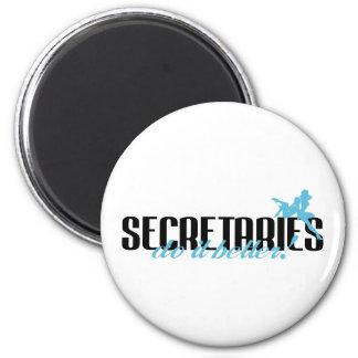 ¡Secretarias Do It Better! Imán De Frigorífico