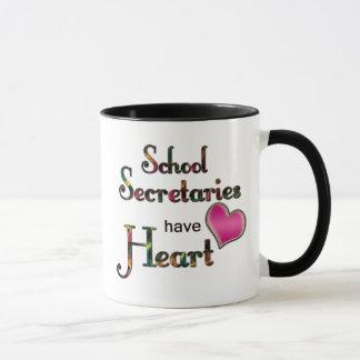 Secretarias Have Heart de la escuela Taza