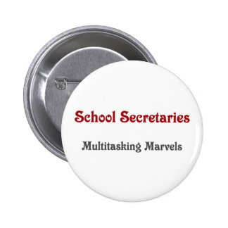 Secretarias Multitasking Marvels de la escuela Pins