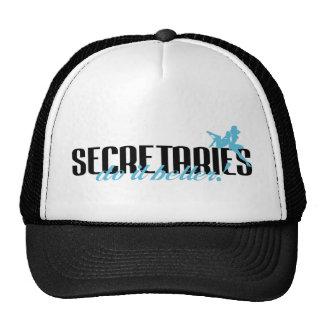 Secretaries Do It Better! Trucker Hat