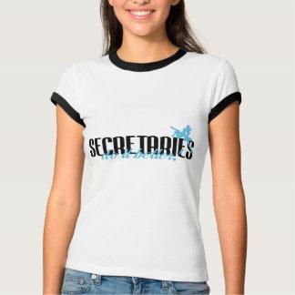 Secretaries Do It Better! Tee Shirt