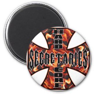 Secretaries Hard Core Magnet