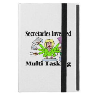Secretaries Invented Multi Tasking iPad Mini Cover