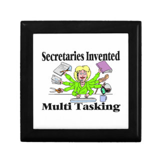 Secretaries Invented Multi Tasking Jewelry Box