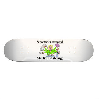 Secretaries Invented Multi Tasking Skateboard Deck