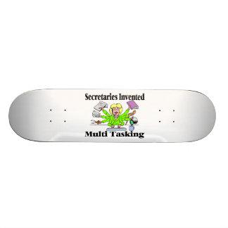Secretaries Invented Multi Tasking Skateboard
