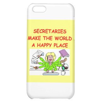 secretaries iPhone 5C cover