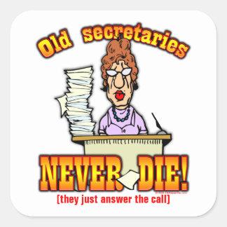 Secretaries Square Stickers