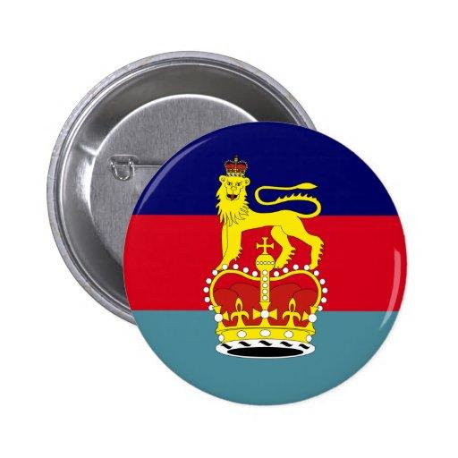 Secretario de Estado británico para la defensa, pa Pin Redondo 5 Cm