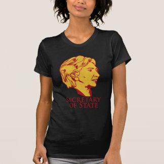 Secretario de Estado de Hillary Clinton - modifica Camisetas
