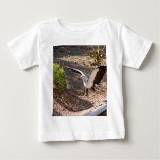 Secretary Bird Baby T-Shirt