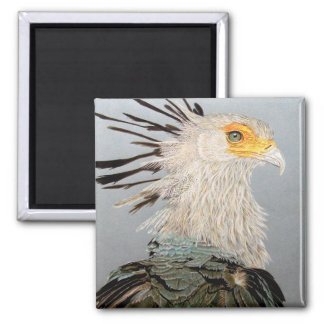 Secretary Bird Fridge Magnet