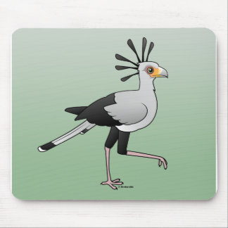 Secretary Bird Mouse Pad