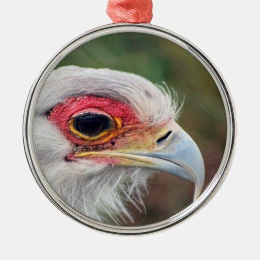 Secretary Bird of South Africa Christmas Tree Ornament
