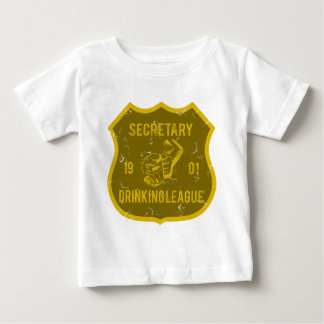 Secretary Drinking League Baby T-Shirt