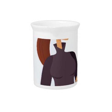 Professional Business Secretary grey Original design : Tshirts Beverage Pitcher