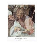 Secretary Of St. Augustine By Raffael Postcards