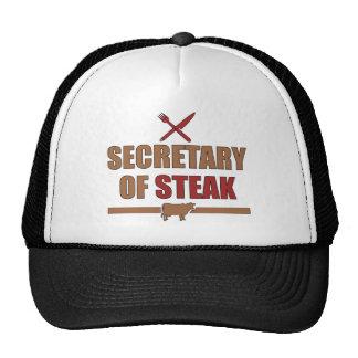 Secretary of Steak Trucker Hat