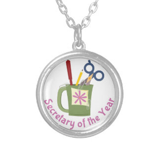 Secretary Of Year Round Pendant Necklace