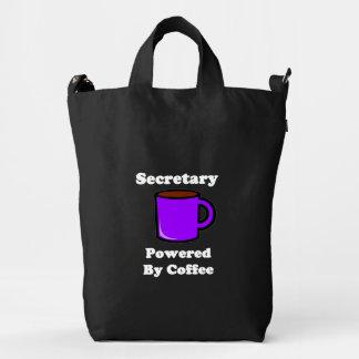 """Secretary""  Powered by Coffee Duck Bag"