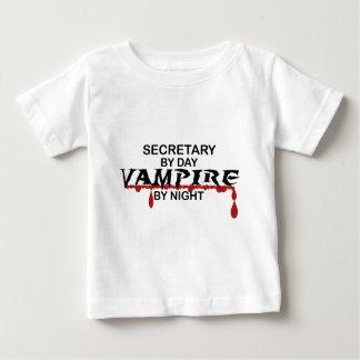 Secretary Vampire by Night Baby T-Shirt