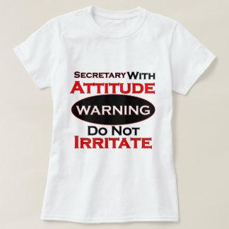 Secretary With Attitude T-Shirt