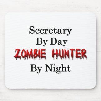 Secretary/Zombie Hunter Mouse Pad