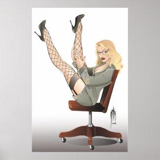 Secretary's Day Poster