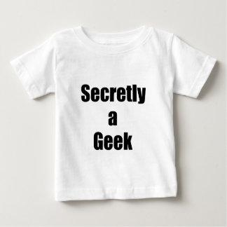 Secretly a Geek Baby T-Shirt
