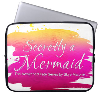 Secretly a Mermaid - 15 Inch Laptop Sleeve