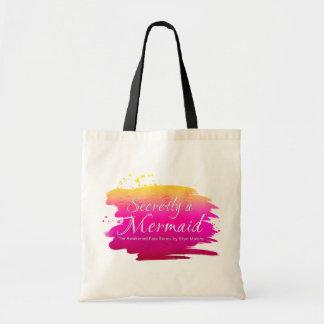 Secretly a Mermaid - Tote Bag - Pink