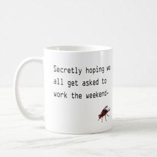 Secretly hoping coffee mug