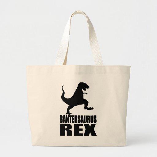 Secreto Santa de la burla de Bantersaurus Rex Uni Bolsa