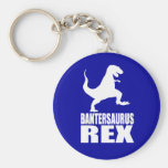 Secreto Santa de la burla de Bantersaurus Rex Uni Llaveros Personalizados