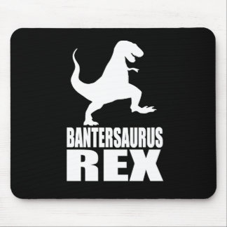 Secreto Santa de la burla de Bantersaurus Rex Uni Tapetes De Ratón