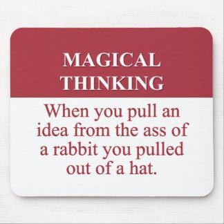 Secretos de (2) de pensamiento mágico alfombrilla de ratones