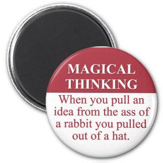 Secretos de (3) de pensamiento mágico imán redondo 5 cm